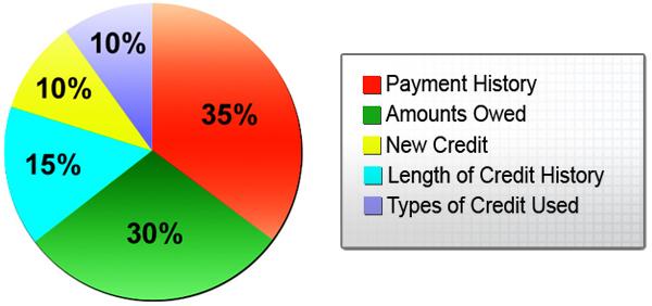 Credit Pie Chart Keninamas